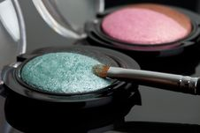 Free Make-up Eyeshadows Stock Photography - 15353892