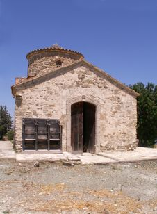 Old Church On The Island Of Cyprus Royalty Free Stock Images