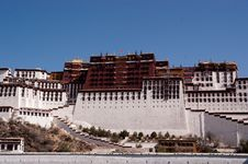 Free The Potala Palace Royalty Free Stock Photos - 15354648