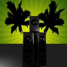 Free Disco Speaker Stock Images - 15354794