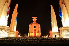 Free The Democracy Monument Royalty Free Stock Photo - 15354875