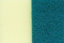 Free Surface Of The Sponge Stock Image - 15354891