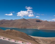 Free Lake In Tibet, China Royalty Free Stock Photography - 15354967