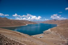 Free Lake In Tibet, China Stock Image - 15355001