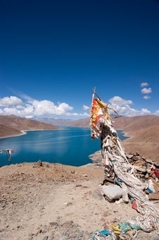 Free Lake In Tibet, China Royalty Free Stock Photography - 15355037