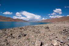 Free Lake In Tibet, China Royalty Free Stock Image - 15355066