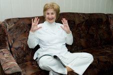Free Elderly Woman Royalty Free Stock Photo - 15358375