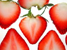 Free Sliced Strawberries Royalty Free Stock Photos - 15358398
