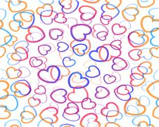 Free Decoration Hearts Background, Seamless Stock Photos - 15358413