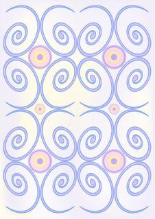 Free Spiral  Background. Stock Photo - 15358510
