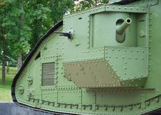 Free A British Mark V Tank (details) Stock Images - 15358804