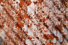 Free Grunge Texture Of Old Wall With Rusty Spots. Stock Photo - 15358870
