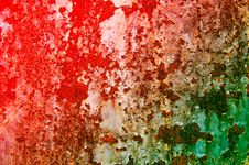 Free Obsolete Surface Old Colorful Metal Sheet. Stock Photo - 15359000