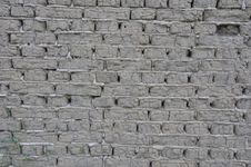 Gray Bricks From Soil Stock Photography