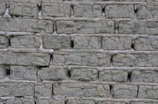 Free Gray Bricks From Soil Stock Photography - 15359712