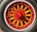 Free Vintage Fire Truck Wood Wheel Stock Photos - 15362373