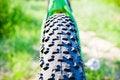 Free Mountain Bike Wheel Detail Royalty Free Stock Photo - 15365135