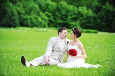 Free Bride  And Groom Royalty Free Stock Image - 15361016