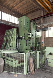 Free Workshop: Large Boring Machine Royalty Free Stock Photo - 15361395