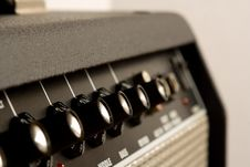 Free Amplifier Controls Royalty Free Stock Photo - 15361575