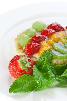 Fruit Tart Stock Image