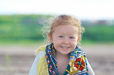 Free Little Smiling Girl Royalty Free Stock Photography - 15361737