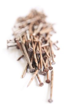 Free Stack Of  Nails Royalty Free Stock Photography - 15361947