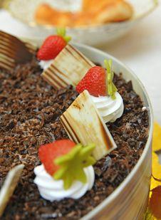 Free Strawberry Cake Stock Photo - 15362370