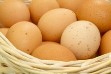Free Eggs In Basket Stock Photo - 15362980