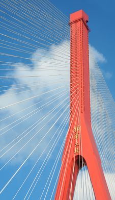 Free Red Bridge Royalty Free Stock Images - 15363049