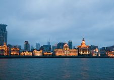Free The Bund District - Old Part Of Shanghai Stock Photography - 15363712