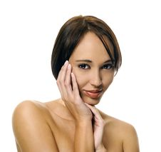 Free Beauty On White Stock Photos - 15364393