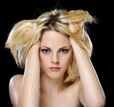 Free Blond Babe Stock Photography - 15364402