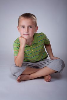 Young Child Stock Image