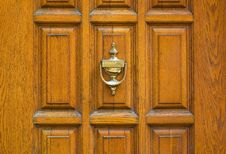 Free Old Metal Door Handle Knocker Royalty Free Stock Images - 15364739