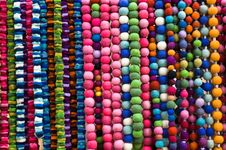 Free Coloured Beads Royalty Free Stock Photography - 15364747