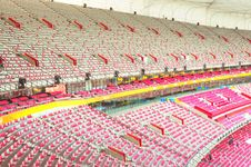Free Inside Of Stadium Bird Nest Royalty Free Stock Photos - 15365398