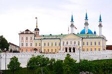 Free Kazan Kremlin Royalty Free Stock Image - 15365736