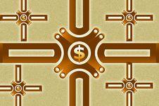 Free Dollar Sing Royalty Free Stock Photo - 15366075