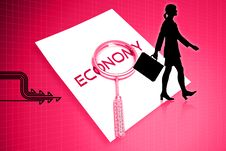 Free Economy Letter And Lance Stock Photography - 15366332