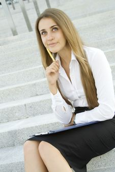 Free Busy Lady Stock Photo - 15366750