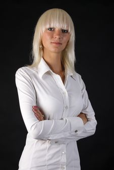 Free Beautiful Business Blonde Lady Royalty Free Stock Photo - 15366815