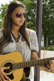 Free My Guitar And Me Royalty Free Stock Photo - 15367035