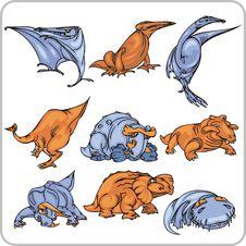 Free Dinosaur. Royalty Free Stock Photos - 15367418