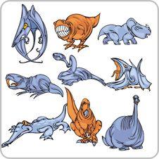 Free Dinosaur. Stock Image - 15367421