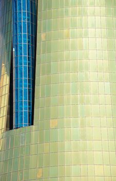 Free Golden And Blue Windows Stock Photography - 15367422