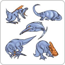 Free Dinosaur. Stock Images - 15367424