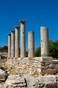 Free Ruins At The Sanctuary Of Apollon Ylatis, Cyprus Stock Photos - 15367513