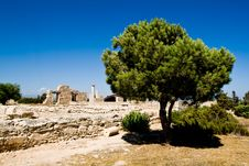 Free View Of Sanctuary Of Apollon Ylatis, Cyprus Royalty Free Stock Image - 15367556