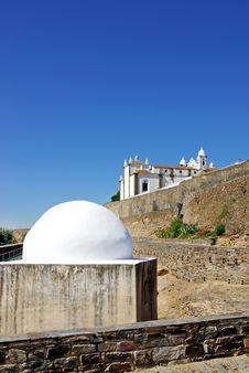 Free Two Temples In Monsaraz . Stock Photo - 15367630